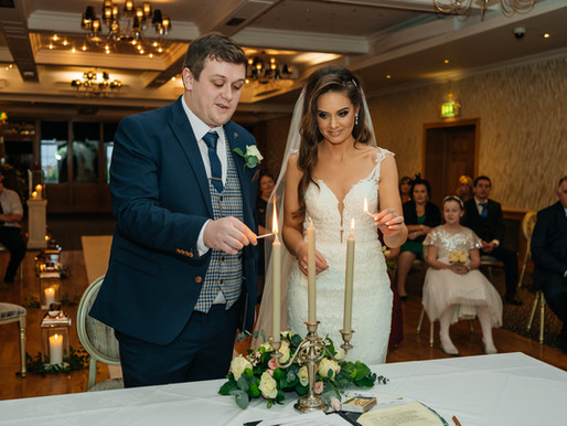 Nicola + Paul | Stunning New Year's Eve wedding at Garryvoe Hotel, co. Cork.