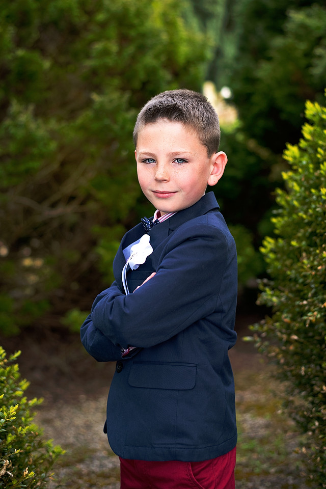 Outdoor First Communion Photo Session