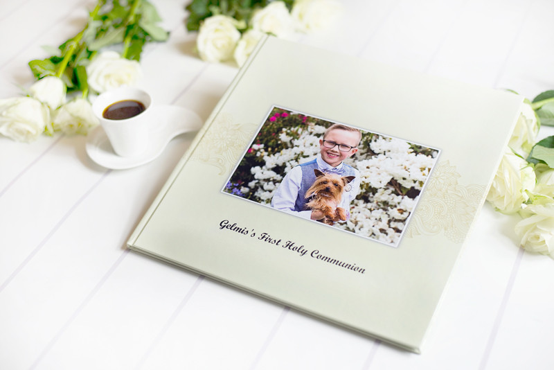 Happy memories Photography photobook first holy communion dungarvan