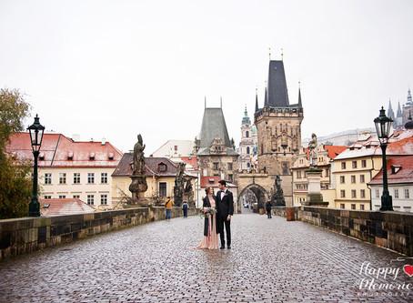 Nicola + Tomas | Prague Love Story