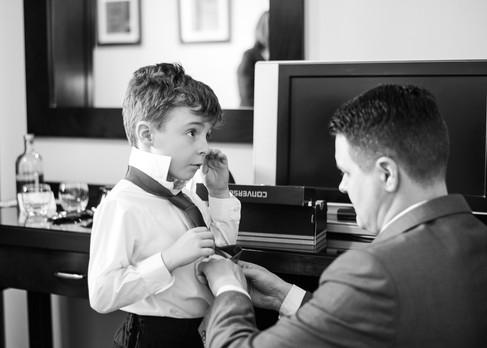 Trim Castle Hotel wedding photographer ireland dungarvan page boy