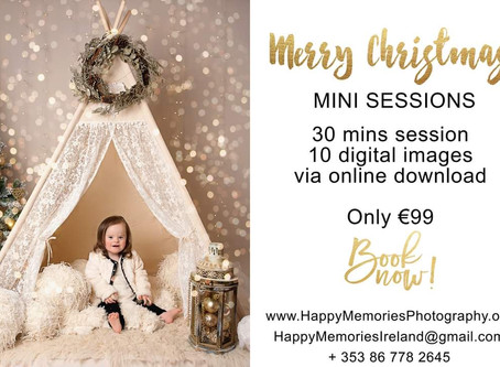 Christmas Mini Photo Sessions are now open for bookings! | Dungarvan Family Photographer