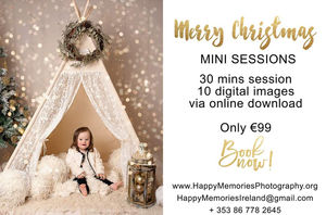 Christmas Setups.Christmas Mini Photo Sessions Are Now Open For Bookings