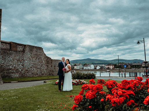 Claire + Paddy | Dungarvan Castle Wedding, Dungarvan, co. Waterford
