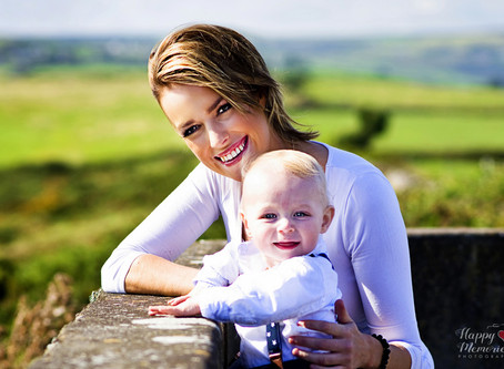 Heart-warming Mother and Son photoshoot | An Rinn, Dungarvan.