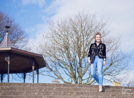 "Street Style Photoshoot with ""Pam's Live Love Fashion"" 