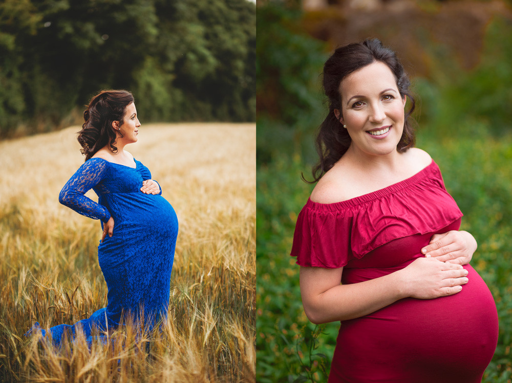 summer outdoor maternity photosession Dungarvan