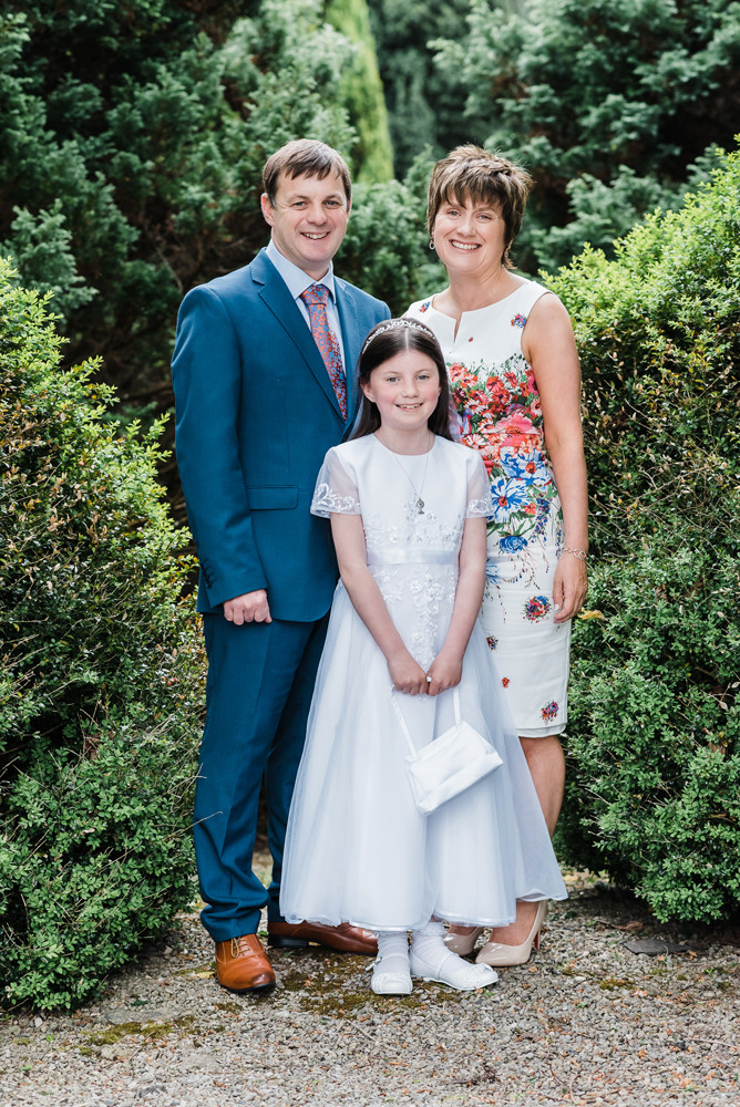 first holy communion photography dungarvan family portrait