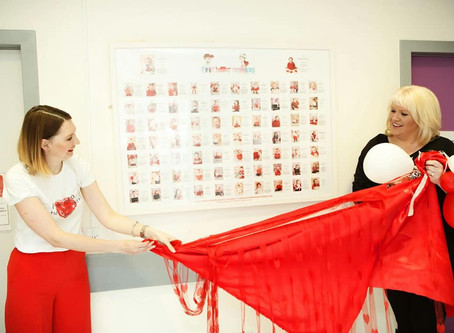 Heart Children Ireland collaborating with Little Heart Warriors to create their charity calendar 201