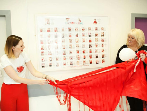 Heart Children Ireland collaborating with Little Heart Warriors to create their charity calendar 201