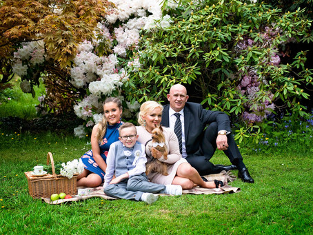 Gelmis's First Communion Photo Session in Lismore Castle Gardens