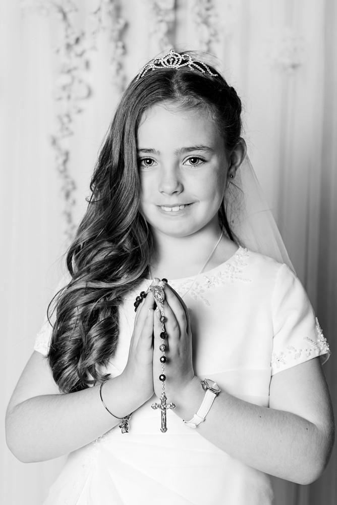 first holy communion photography dungarvan children portrait