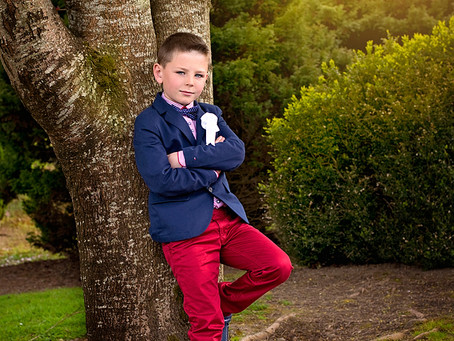 Gavin's First Holy Communion photo session | Dungarvan