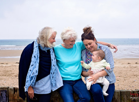 Four generations of beautiful women |  Whiting Bay, Co. Waterford