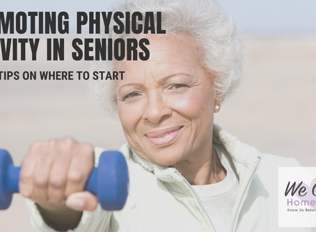 Wellness Wednesday: Promoting Physical Activity for Seniors