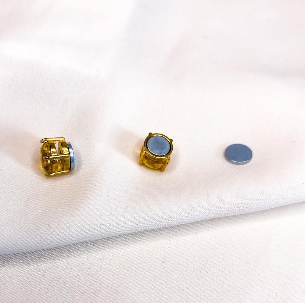 Diamonds Clipoorbellen oorbellen met magneet magnetische oorbellen clipoorbellen voor kinderen