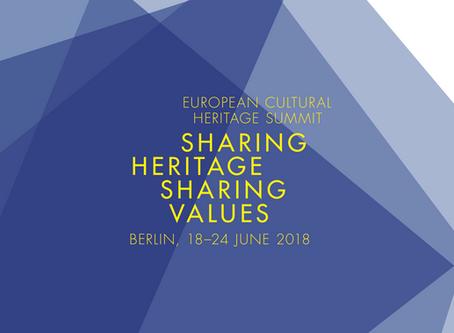 2018 European Cultural Heritage Summit in Berlin