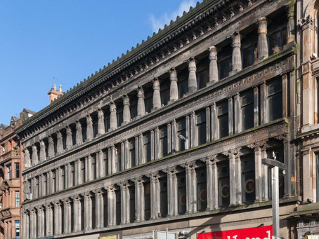 Egyptian Halls, Glasgow among the 14 Most Endangered sites in Europe