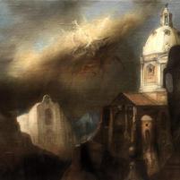 Paesaggio iporealista con visione mistica