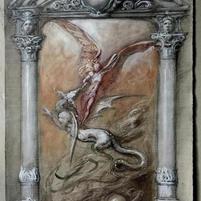 Studio per la porta di San Michele