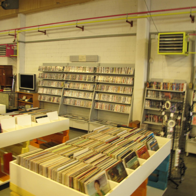 LP's - CD's - DVD's