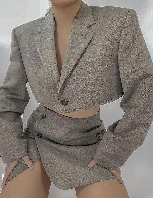 Reworked Classic Skirt Set