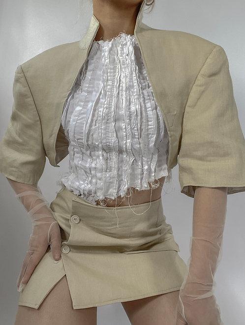Reworked Hugo Boss Bolero Skirt Set