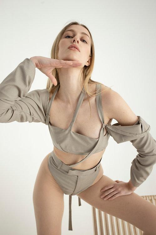 Deconstructed Trouser Bodysuit