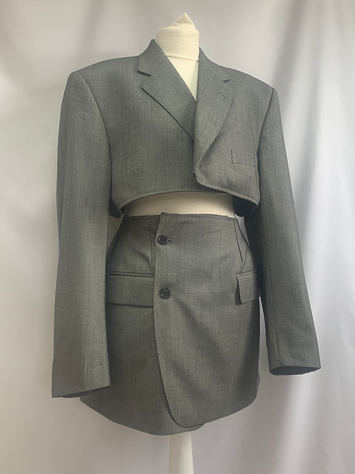 Reworked Christian Dior Skirt Set