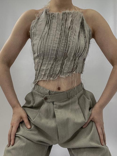 Reworked Pierre Balmain V Trousers