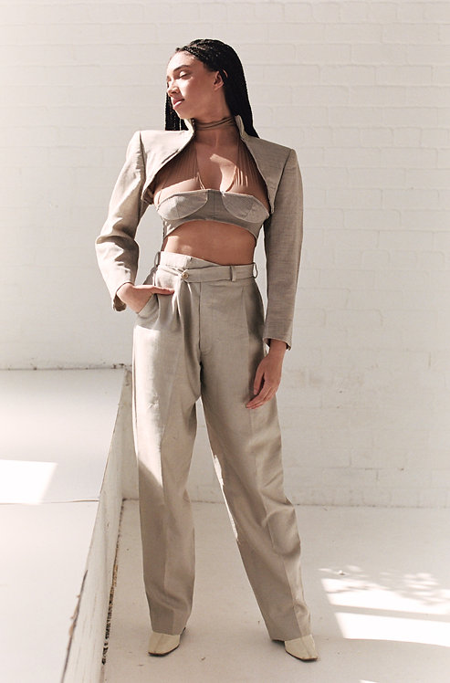 Reworked Balmain V Trousers