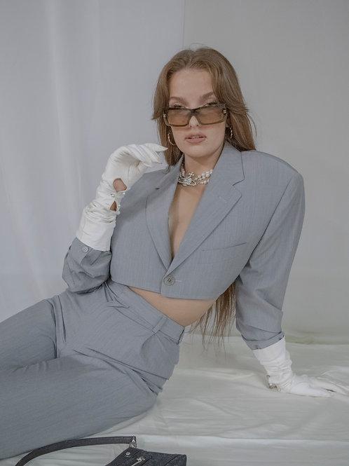 Reworked Calvin Klein Grey Suit