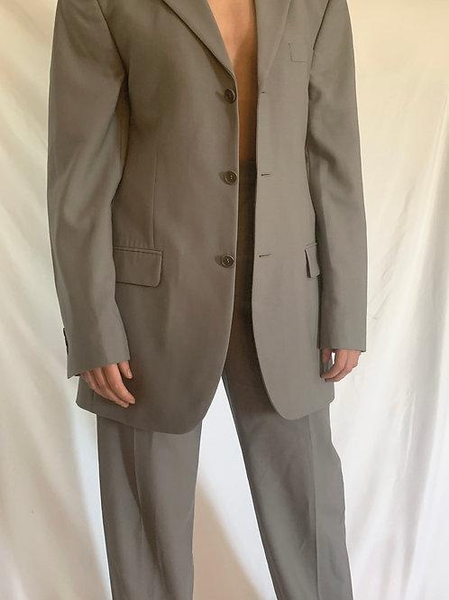 Reworked Balmain Grey Suit