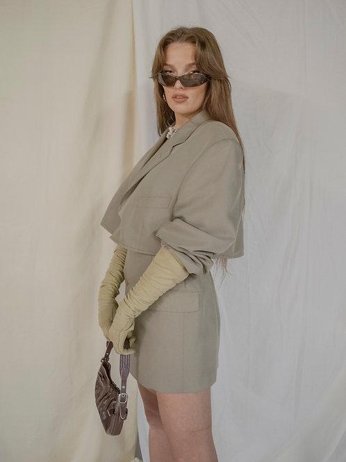 Reworked Pierre Balmain Skirt Set