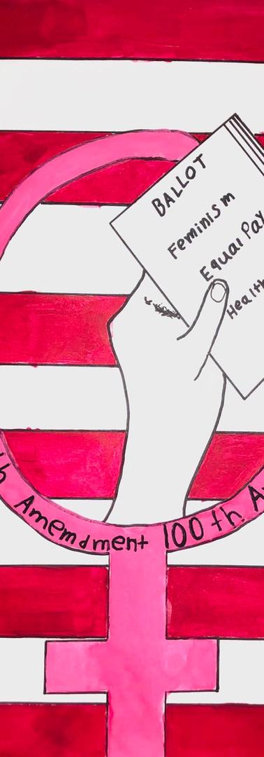19th Amendment. 100th Annivesary