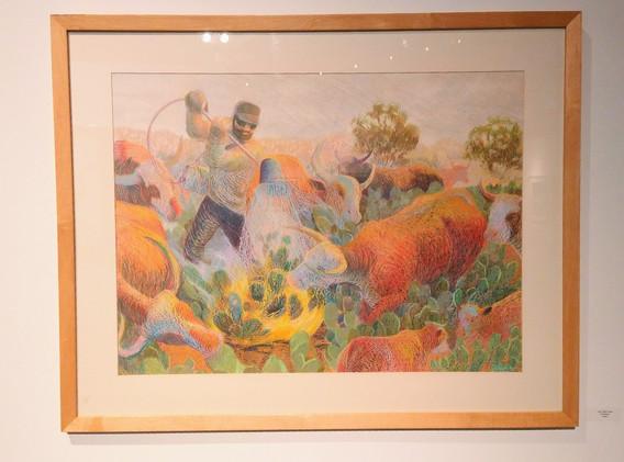 Pear Burner Janet Eager Kruger Pastel