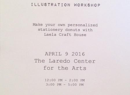 "Laela Crafthouse ""The Illustrated Donut"" Workshop"