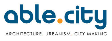 Able City- Primary Logo-Bottom Text-Blue