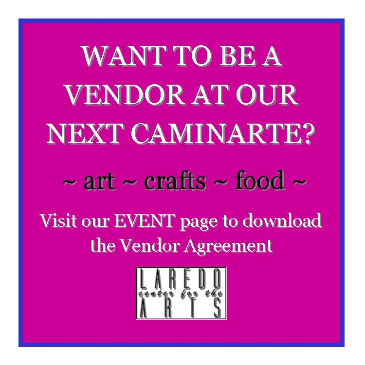 Be a vendor at our next CaminArte