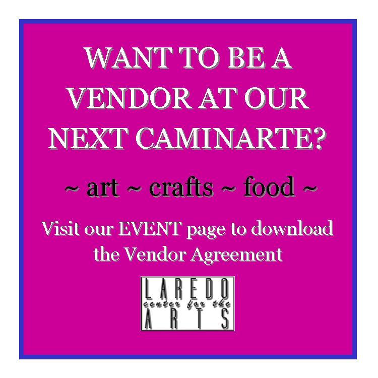 Be a vendor at our next CaminArte