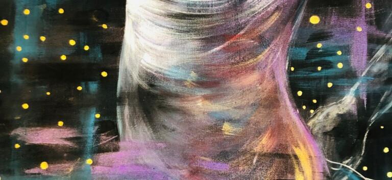 La Bailadora: Detail
