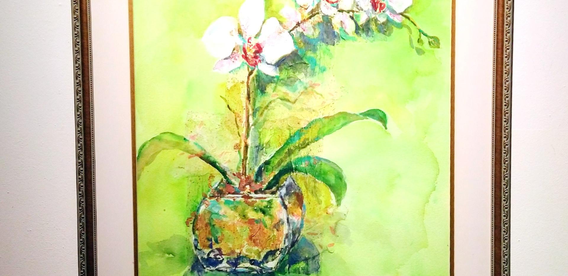 Christina Castillon Untitled  Watercolor