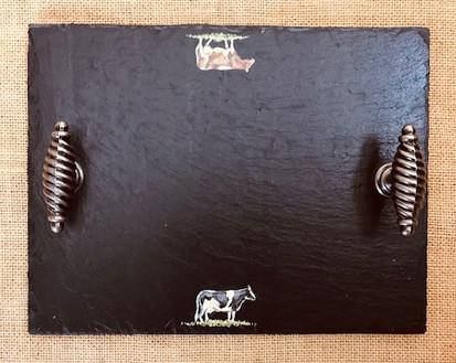 small cheeseboard - cows