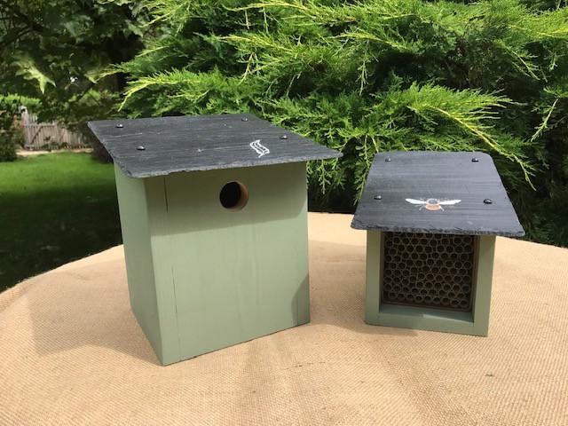 Bird & Mason bee box