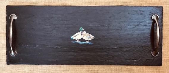 Medium cheeseboard - ducks