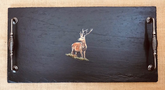 Large cheeseboard - stag