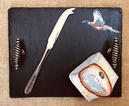 small cheeseboard -  pheasant
