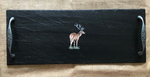 Medium cheeseboard - stag