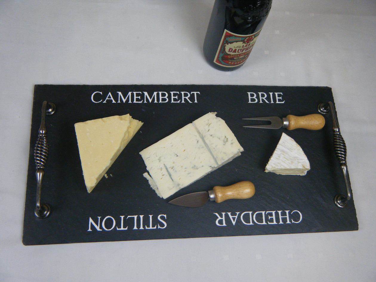 Large cheeseboard - cheese names