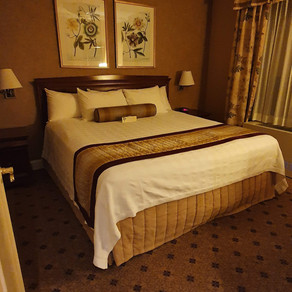 Staying at the Wellington Hotel in New York